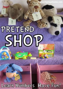 pretend shop feature